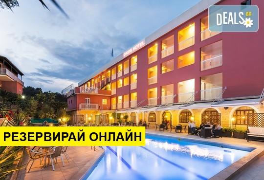 Нощувка на база BB,HB в Oasis Hotel 3*, Перама, о. Корфу