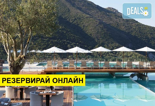 Нощувка на база Закуска,Закуска и вечеря,All inclusive в Atlantica Grand Mediterraneo Resort & Spa 5*, Ермонес, о. Корфу