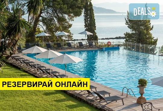 Нощувка на база BB,HB в Kontokali Bay Resort & Spa 5*, Контокали, о. Корфу