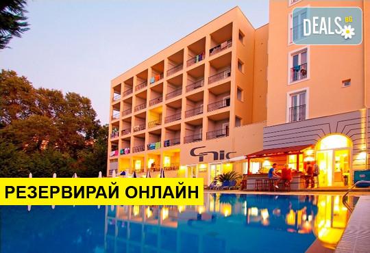 Нощувка на база Закуска,Закуска и вечеря в CNic Hellinis Hotel 3*, Канони, о. Корфу