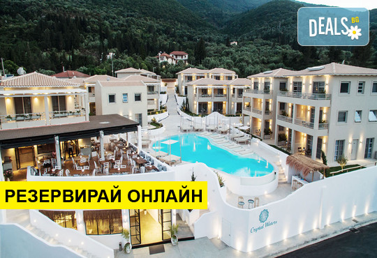 Нощувка на база BB в Crystal Waters Hotel 4*, Никиана, о. Лефкада
