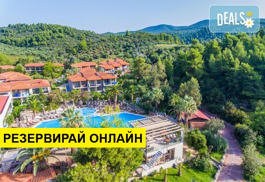 Нощувка на база AI в Poseidon Resort Hotel 4*, Неос Мармарас, Халкидики