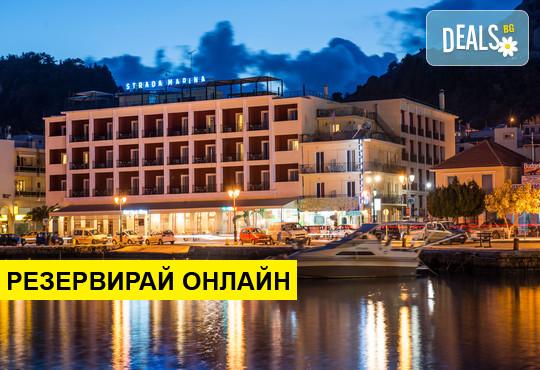 Нощувка на база BB,HB в Strada Marina Hotel 4*, Закинтос, о. Закинтос