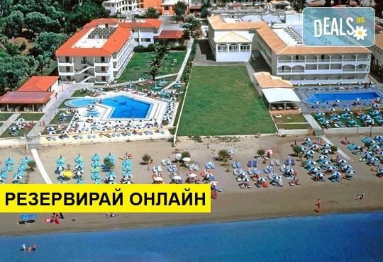 Нощувка на база BB,HB,AI в Astir Beach Hotel 3*, Лаганас, о. Закинтос