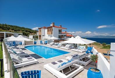 3+ нощувки на човек на база Закуска в Villa D'Oro - Luxury Villas & Suites, Палюри, Халкидики, безплатно за деца до 11.99 г. - Снимка