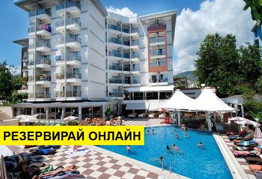 НГ 2020 в Турция със самолет от Варна! 4 нощувки на база Закуска и вечеря в Grand Okan Hotel 4*