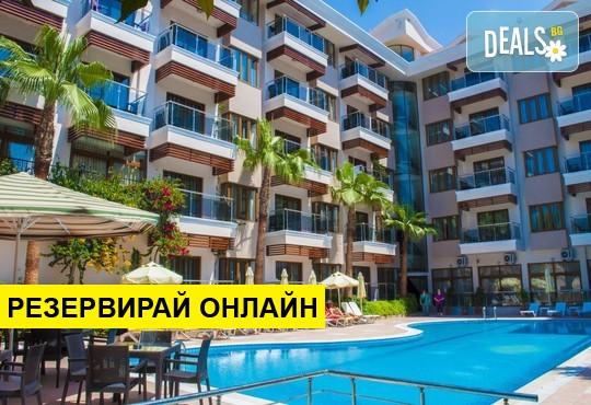 Самолетна програма от София! 14 нощувки на база All inclusive в Sun Beach Park Hotel 4*