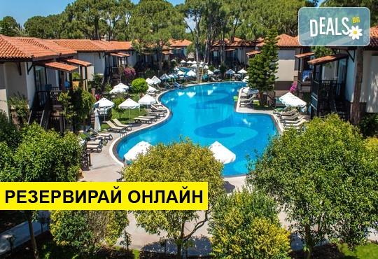 Самолетна програма от София! 14 нощувки на база Ultra all inclusive в Papillon Ayscha Resort & Spa 5*