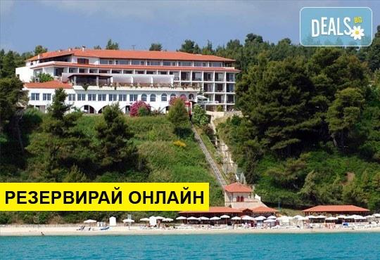 Нощувка на база HB,FB в Alexander The Great Hotel 4*, Криопиги, Халкидики